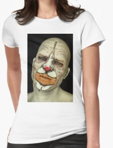 Behind The Mask - The Tears of a Clown Womens Fitted T-Shirt