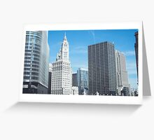 The Tribune Tower, Chicago Greeting Card