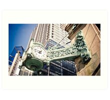 The Old Marshall Field's Building Art Print