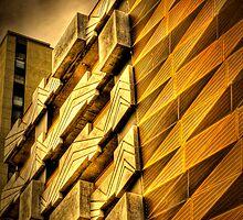 Modern Melbourne Building Shapes by Michael Sanders