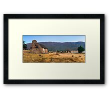 Settlers Cottage Framed Print