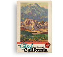 Vintage poster - California Canvas Print