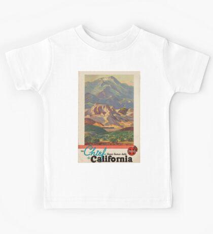 Vintage poster - California Kids Tee