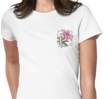 L is for Lily - patch Womens Fitted T-Shirt