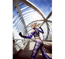 Tekken Nina Williams Photographic Print
