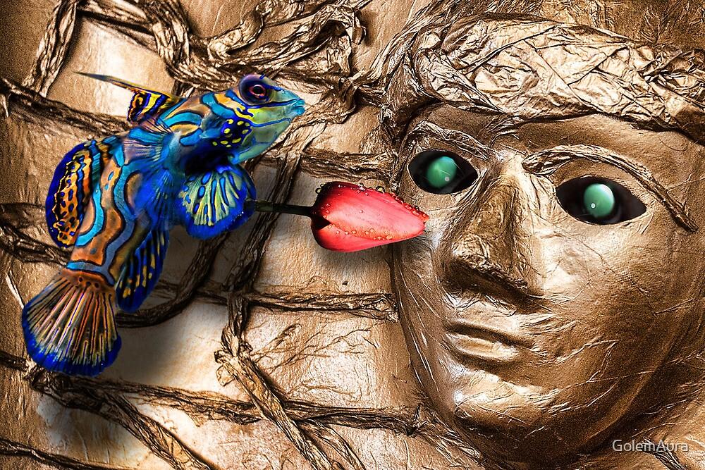 Metatron Harvesting Tears by GolemAura