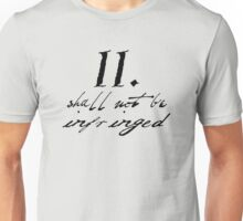 Second Amendment Simple Unisex T-Shirt