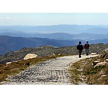 Down Mt Kosciuszko  Photographic Print