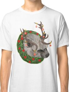 The Grumpy Christmas Hyena Classic T-Shirt