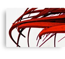 Blooded Blades Canvas Print