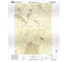USGS TOPO Map New Hampshire NH Mount Moosilauke 329678 1995 24000 Poster