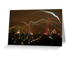 Fireworks #2 Greeting Card