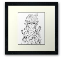 Little Witch Framed Print