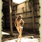 Beautiful Nude Blonde in Abandoned Warehouse (3) by cspmedia