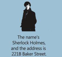 Sherlock Holmes, 221B Baker Street.  by GeorgioGe