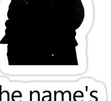Sherlock Holmes, 221B Baker Street.  Sticker