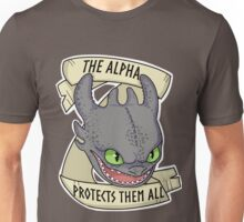 Toothles - The Alpha Protects Them All Unisex T-Shirt