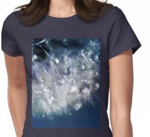 New Year's Blue Champagne  Womens Fitted T-Shirt