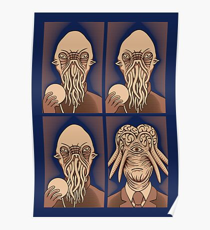 Ood One Out - Dalek Poster