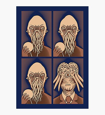 Ood One Out - Dalek Photographic Print