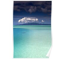 Bora Bora Lagoon Poster
