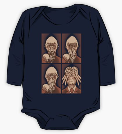 Ood One Out - Dalek One Piece - Long Sleeve