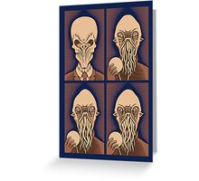 Ood One Out - Silent Greeting Card