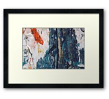 Shredded Framed Print
