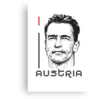 I LOVE AUSTRIA T-shirt Canvas Print