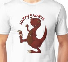 A very happy dinosaur Unisex T-Shirt