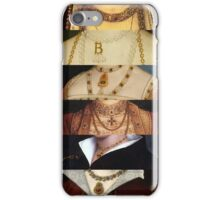 Six Wives of Henry VIII iPhone Case/Skin