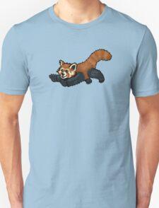 Red Panda leaping Unisex T-Shirt
