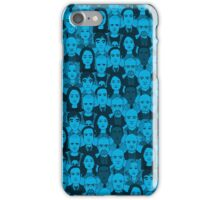 Breaking Bad Characters - Blue iPhone Case/Skin