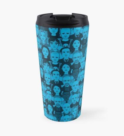 Breaking Bad Characters - Blue Travel Mug