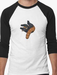 Red Panda rolling Men's Baseball ¾ T-Shirt