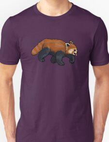 Red Panda walking Unisex T-Shirt