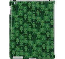 Breaking Bad Characters - Dark Green iPad Case/Skin