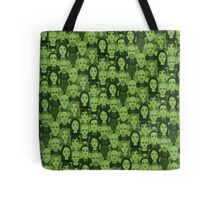 Breaking Bad Characters - Lime Green Tote Bag