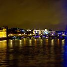 The London Skyline New Years Eve 2012 - HDR by Colin J Williams Photography
