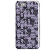 Breaking Bad Characters - Purple iPhone Case/Skin