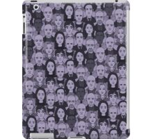 Breaking Bad Characters - Purple iPad Case/Skin