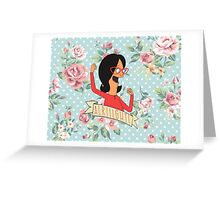 Alright! Linda Bletcher Greeting Card
