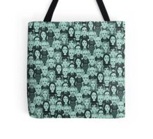 Breaking Bad Characters - Turquoise Tote Bag
