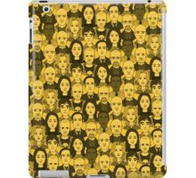 Breaking Bad Characters - Yellow iPad Case/Skin