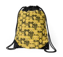 Breaking Bad Characters - Yellow Drawstring Bag