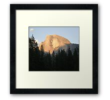 Copper Tone Half Dome Framed Print