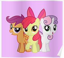 My Little Pony: Cutie Mark Crusaders Poster