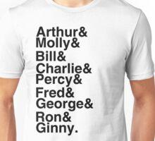 The Weasleys Unisex T-Shirt