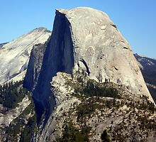 Glacier Point View of Half Dome by Steve Upton