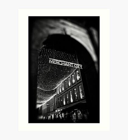 Merchant City Art Print